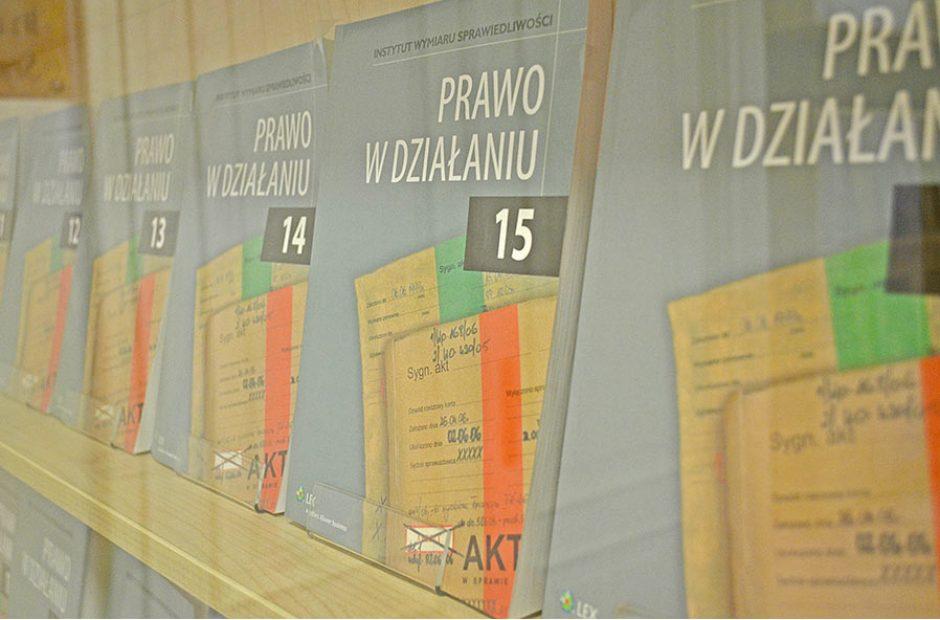 Prawo w Działaniu Instytut Wydziału Sprawiedliwości Warszawa Wydawnictwo (2)